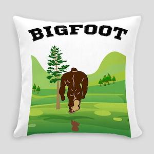 Bigfoot lives! Everyday Pillow