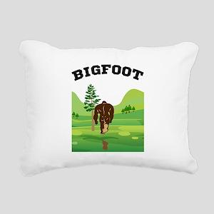 Bigfoot lives! Rectangular Canvas Pillow