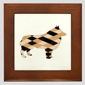 Schipperke Framed Tile