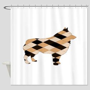 Schipperke Shower Curtain