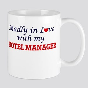 Madly in love with my Hotel Manager Mugs