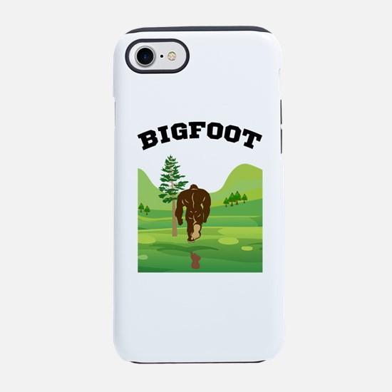 Bigfoot lives! iPhone 8/7 Tough Case