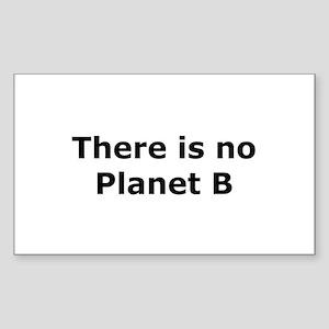 Planet B Rectangle Sticker