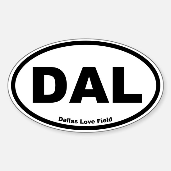 Dallas Love Field Oval Decal
