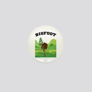 Bigfoot lives! Mini Button