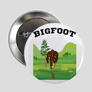 "Bigfoot lives! 2.25"" Button"