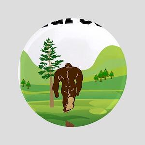 "Bigfoot lives! 3.5"" Button"