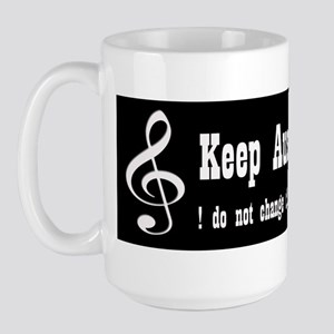 KEEP AUSTIN LOUD Large Mug