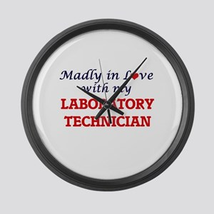 Madly in love with my Laboratory Large Wall Clock