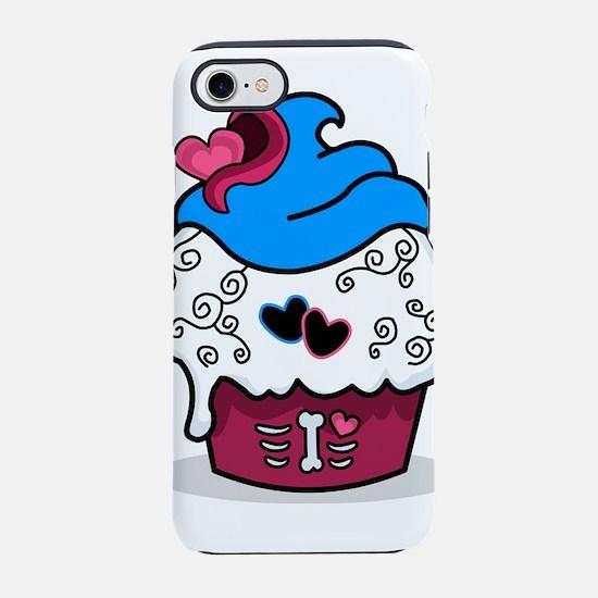 Heart Zombie Cupcake iPhone 8/7 Tough Case