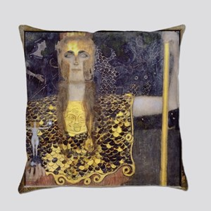 Gustav Klimt Pallas Athene Everyday Pillow