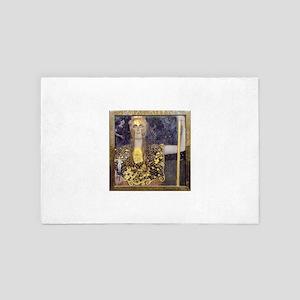 Gustav Klimt Pallas Athene 4' x 6' Rug