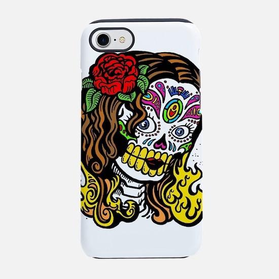 Zombie Flamingo Dancer iPhone 8/7 Tough Case