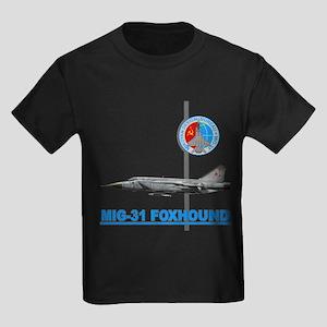 Mig-31 Foxhound Kids Dark T-Shirt