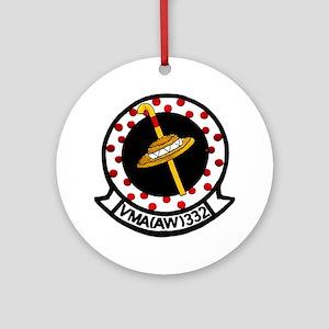VMA 332 Polkadots Ornament (Round)