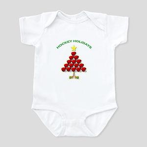 Happy Hockey Holidays Infant Bodysuit