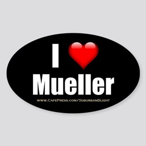I Love Mueller Sticker