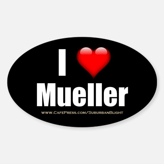 I Love Mueller Decal