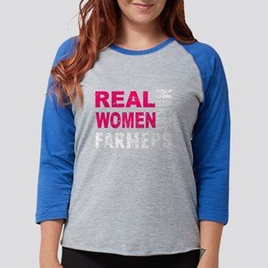 Real Women Marry Farmers Long Sleeve T-Shirt