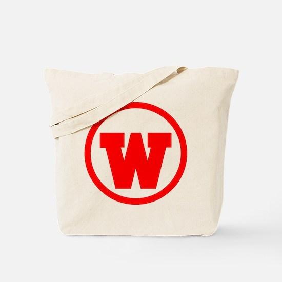 Unique W Tote Bag