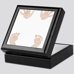 Baby_Hands_and_Feet_Maternity_Exc1 Keepsake Box