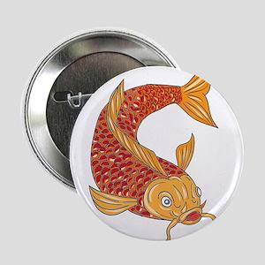 Koi Nishikigoi Carp Fish Swimming Down Drawing 2.2