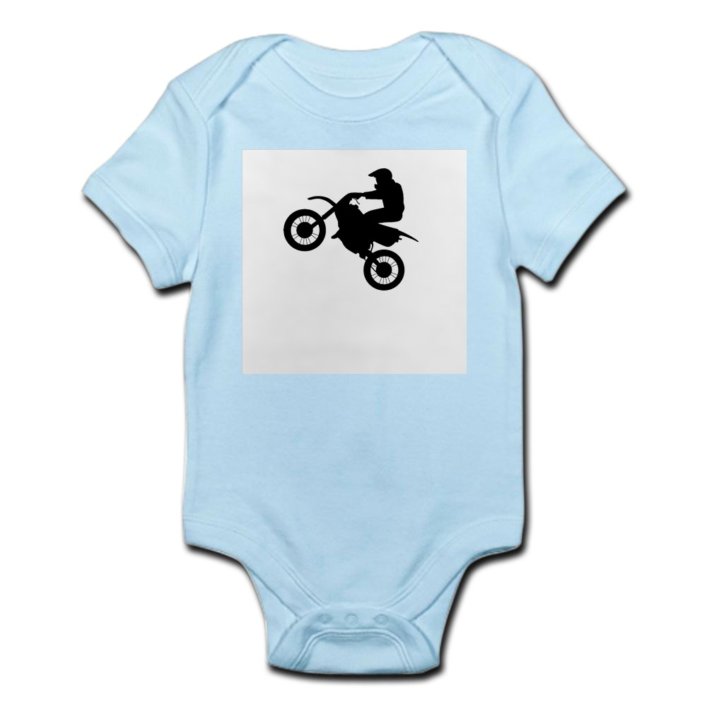 CafePress-Motocross-Infant-Bodysuit-Cute-Infant-Bodysuit-Baby-Romper-186712553 thumbnail 20
