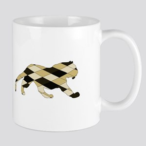 Geometric Tiger Mugs