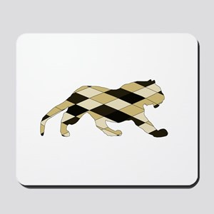 Geometric Tiger Mousepad