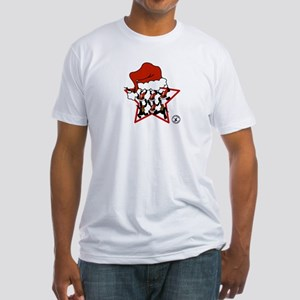 Star Christmas Fitted T-Shirt