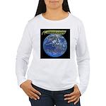 Peas on Earth Women's Long Sleeve T-Shirt