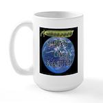 Peas on Earth Large Mug