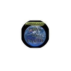 Peas on Earth Mini Button (10 pack)
