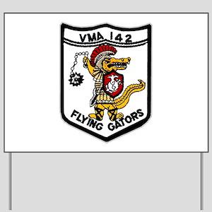 VMA 142 Flying Gators Yard Sign