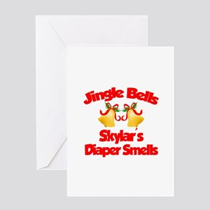 Skylar - Jingle Bells Greeting Card
