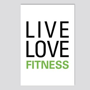 Live Love Fitness Postcards (Package of 8)