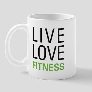 Live Love Fitness Mug