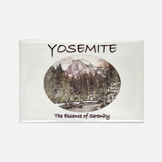 Yosemite:Serenity Rectangle Magnet