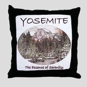 Yosemite:Serenity Throw Pillow