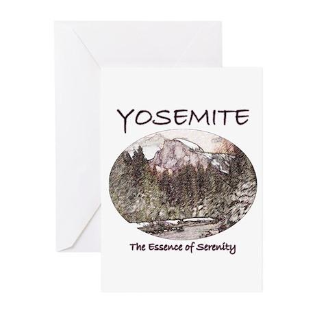 Yosemite:Serenity Greeting Cards (Pk of 20)