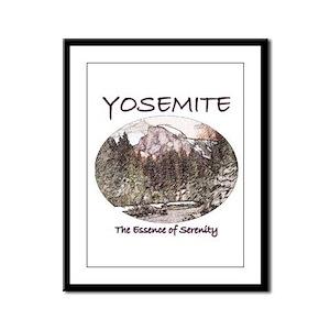 Yosemite:Serenity Framed Panel Print