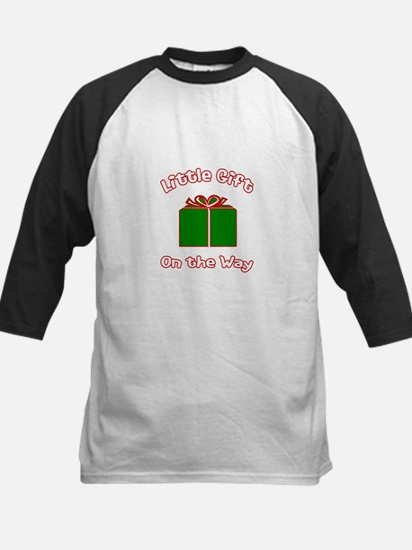 Little Gift -Christmas Kids Baseball Jersey