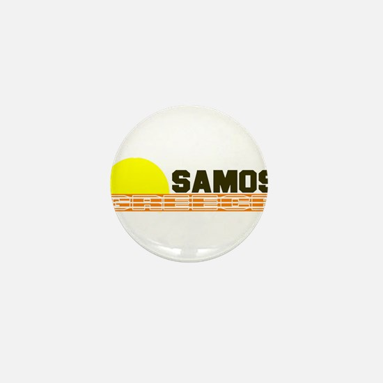 Samos, Greece Mini Button