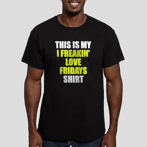 I freakin' love Friday Men's Fitted T-Shirt (dark)