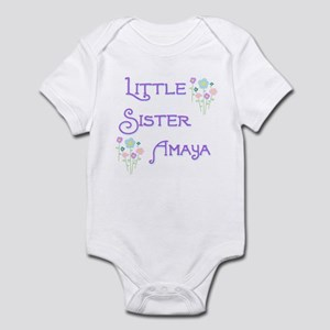 Little Sister Amaya Infant Bodysuit