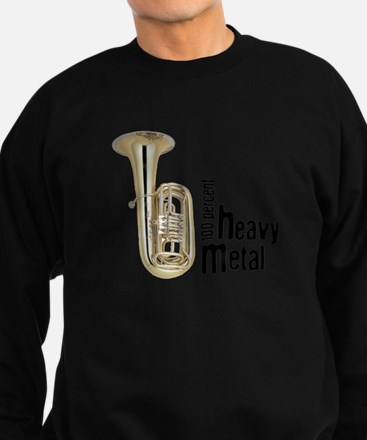 Heavy Metal Tuba Sweatshirt