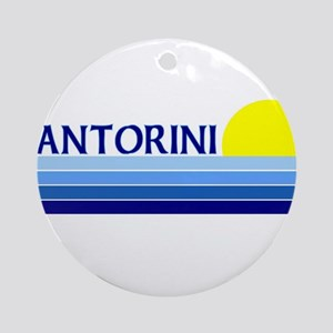 Santorini, Greece Ornament (Round)