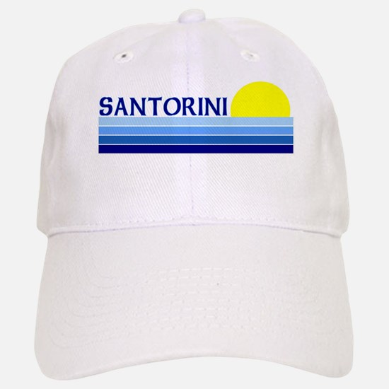 Santorini, Greece Cap