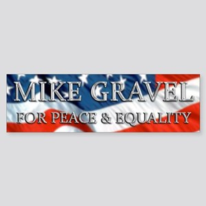 Mike Gravel 2.0 Bumper Sticker