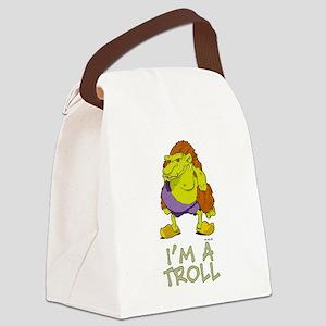 I'm a Troll Canvas Lunch Bag